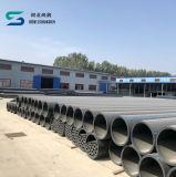 Tubulação plástica do HDPE de PE100 PE80 para a fonte de água