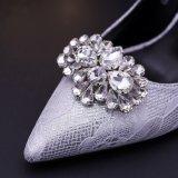 fashion Shoe Ornaments 새로운 디자인 모조 다이아몬드 숙녀