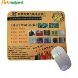 Personnalisés Tapis de souris en caoutchouc coloré PVC