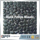 Azulejos pulidos del mosaico del guijarro para el suelo exterior con el color multi
