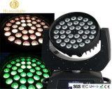 La discoteca 36PCS 10W LED ha agitato lo spostamento del suo indicatore luminoso tinto capo
