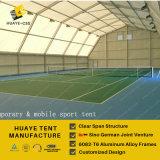 Шатер тенниса рамки крышек PVC алюминиевый