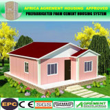 El ahorro de tiempo avanzado de acero de la luz de la casa y casa prefabricadas prefabricados
