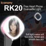 메이크업 미러를 가진 2018 다기능 Rechargeble LED Selfie 빛