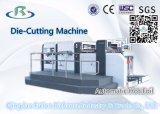 Máquina vincando da série Q1 e cortando semiautomática eficiente