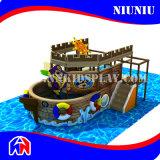 Pirate Ship Shapeの子供Indoor Playground