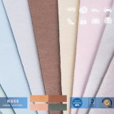 Tessuto materiale del cuoio del sacchetto dell'unità di elaborazione del PVC di elasticità di modo della Cina del fornitore per la fabbricazione dei sacchetti