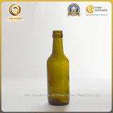 античная бутылка вина Бордо зеленого стекла 187ml (1148)