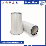 Filtro em caixa F8 cilíndrico médio para o condicionador de ar