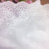 Prix bon marché de la broderie de la dentelle de coton pour les femmes Vêtements