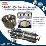 Máquina de enchimento dobro pneumática semiautomática do pistão da pasta das cabeças (G2WGD500)