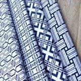 Tela de algodão impressa confortável do projeto novo