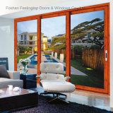 Resistente al agua y de insonorización de aluminio para puertas corredizas para Villa y Casa (FT-D143)
