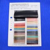 La PU artificial grabada sintetizada imita el cuero para las correas de los zapatos de los bolsos