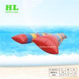 Giocattolo di galleggiamento della piattaforma dell'acqua gonfiabile adulta con il sacchetto di salto