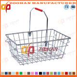 Panier à provisions de supermarché en métal (Zhb18)