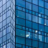 15mm + diafragma de 16 UM+15mm transparente de baixa e painéis de vidro temperado