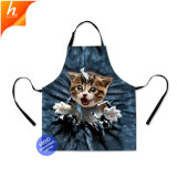 Cute Cat кухня шаблон фартука Сублимация талии фартук для женщин