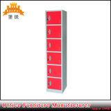 Вертикальный дизайн красочные Kd стали шесть дверцу ящика