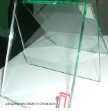Verre Tempered ultra clair de serre avec 3.2mm, 4mm, 5mm, conception de 6mm Mistlite Nasiji