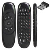 Control remoto Smart TV de control remoto 2.4G Aire ratón inalámbrico