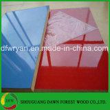 Forces de défense principale UV colorées de la pente 18mm de meubles d'éclat chaud de vente