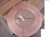 15m Länge R410A ACR-Pfannkuchen-Ring-kupfernes Gefäß