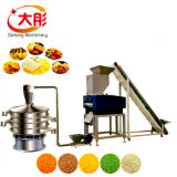 Alimento industriale della briciola delle briciole di pane che fa macchina