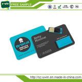De nieuwe Stok van de Creditcard USB van het Ontwerp Uiterst dunne