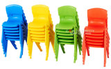 Bunte Kindergarten-Möbel-preiswerter Kind-Plastikstuhl
