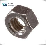 Noix Hex hexagonales galvanisées en acier de vente chaude de prix usine
