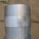 316L de Putfilter van het Water van het roestvrij staal, de Draad Verpakte goed Schermen Johnson