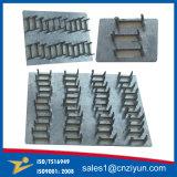 Plaque à ongles en acier galvanisé en acier