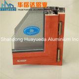 専門の製造の木の穀物の絵画Windowsのためのアルミニウム放出のプロフィール