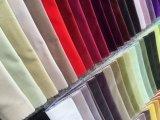 terciopelo de la pila del corte de 90%Cotton 10%Polyester