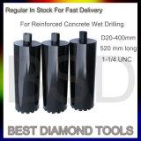 最高速度の鉄筋コンクリートのためのぬれたダイヤモンドの穿孔機
