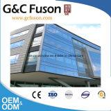 De aluminium Gelamineerde die Gordijngevel van het Glas In China wordt gemaakt