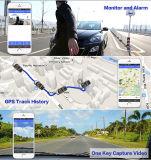 зеркало вид сзади кулачка 1080P черточки автомобиля 4G с двойным объективом