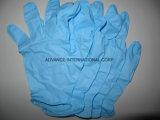 Порошок свободного одноразовые нитриловые перчатки исследования