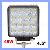 """4.5 """" 48W LED Work Light für Indicators Motorcycle Driving Offroad Boat Car Tractor Truck 4X4 SUV ATV Flood 12V 24V Working Lamp"""