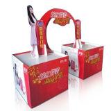 Stands de carton du best-seller, étalages faits sur commande de bruit de palette de papier