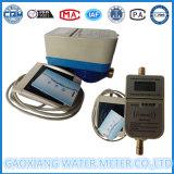 Отечественный используемый счетчик воды IC предоплащенный карточкой