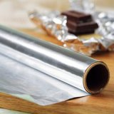 Comercio al por mayor grado de la cocción de alimentos cómodamente el papel de aluminio