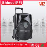 "Shincoの最もよい販売の高品質のRechargebale 12 "" Bluetoothの無線電信のスピーカー"