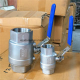 NPT Thread Ends Two Pieces Ball Valves Full Port