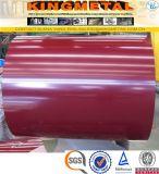 Холоднопрокатное PPGI Prepainted гальванизированная стальная катушка