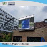 P6 LED de exterior display LED de parede de vídeo