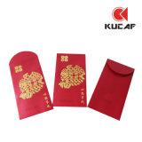 Design pessoal Gold Stamping Paper Envelopes