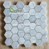 Классицистическая мраморный мозаика плоская, шестиугольник, Chevron, фонарик, ромбоподобная форма
