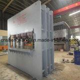 Máquina caliente de la prensa de la piel automática llena de HDF para la madera contrachapada